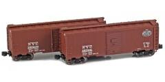 New York Central 40' AAR Boxcar | 2-Car Set