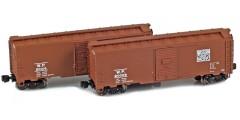 Western Pacific 40' AAR Boxcar | 2-Car Set