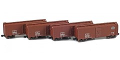New York Central 40' AAR Boxcar | 4-Car Set