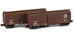Southern Pacific 40' AAR Boxcar | 2-Car Set