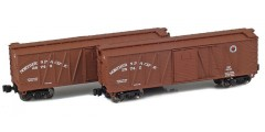 Northern Pacific 40' Outside Braced Boxcar | 2-Car Set
