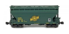 ACF 2-Bay Hopper CNW #175588