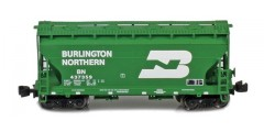 ACF 2-Bay Hopper Burlington Northern   Green #437359