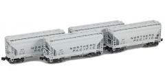 ACF 2-Bay Hopper Northern Pacific 4-Car Set