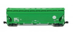 ACF 3-Bay Hopper BNSF Single 2