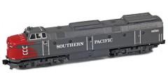 18201-2 SP Krauss-Maffei ML-4000 Brass Locomotive #9001