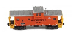 Wide Vision Caboose Milwaukee Road #992300