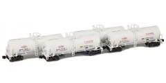 17,600 Gallon Corn Syrup Tank Cars  | ACFX | DuPont Ti-Pure Runner Pack
