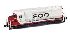 GP30 SOO Line w/ ALCO Trucks #709