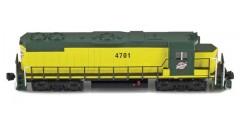 GP38-2 Chicago & North Western #4604