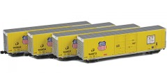 Greenville 60' Boxcar | Union Pacific 4-Car Runner Pack