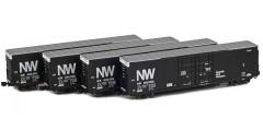 Greenville 60' Boxcar | Norfolk Western 4-Car Runner Pack