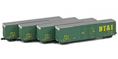Greenville 60' Boxcar | DT&I 4-Car Runner Pack