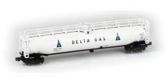 LPG Tank Car Delta Gas SHPX Single #17040