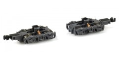 GP7 GP30 GP38 Truck Set Grey