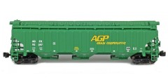 PS-2 Covered Hopper AGPX Single Car #95297