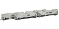 PS-2 Covered Hopper Frisco (SLSF) Set