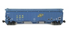 PS-2 Covered Hopper CNW Blue/Green Set 1