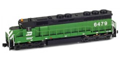 SD45 Burlington Northern #6480