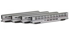 Amtrak Superliner 4-Pack Sleeper | Set 72052-2