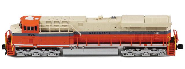 ES44AC NS Heritage | Interstate #8105